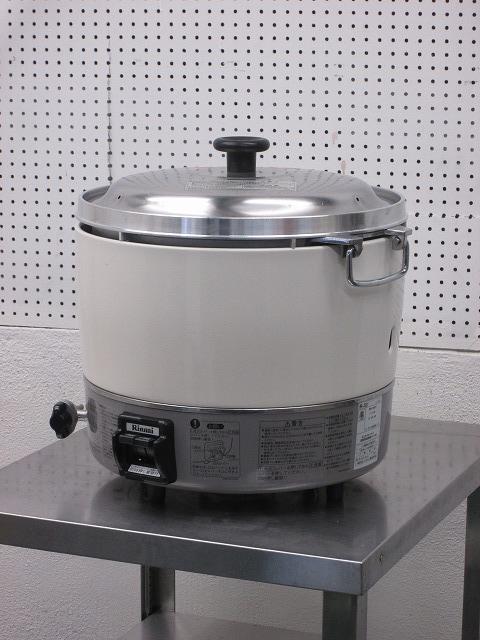 リンナイ ガス炊飯器  RR-30S1 プロパンガス 2017年製買取しました!