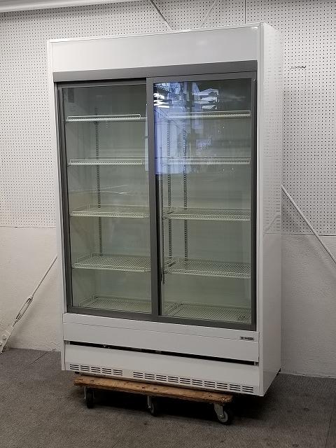 サンデン リーチイン冷蔵ショーケース TRM-SS40XB-B 2006年製買取しました!