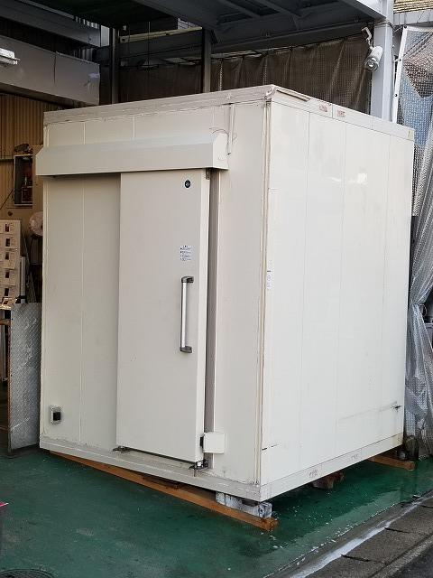 ホシザキ プレハブ型冷凍庫 HUS-22FA-E3/HUS-22FA-UC 2016年製買取しました!