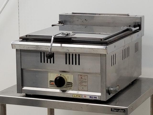 マルゼン 卓上ガス餃子グリラー MGZ-046 プロパンガス用 年式不明買取しました!