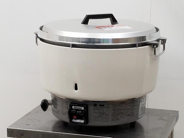 リンナイ ガス炊飯器 RR-50S1-F プロパンガス 2013年製買取しました!