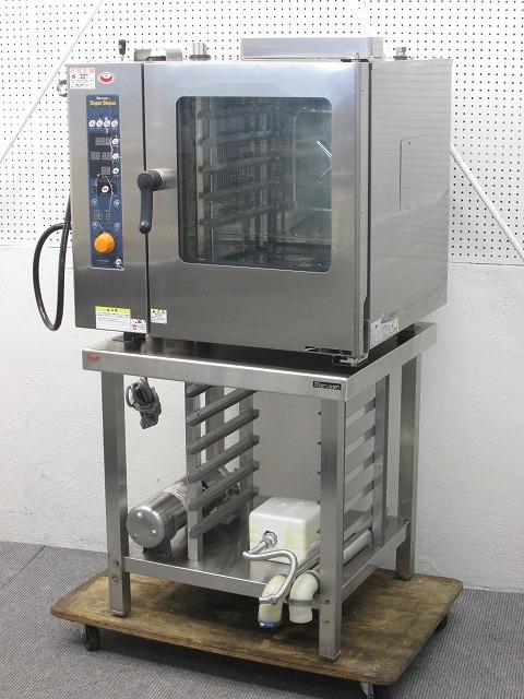 マルゼン ガススチームコンベクションオーブン SSCG-05MSC 2012年製 プロパンガス買取しました!