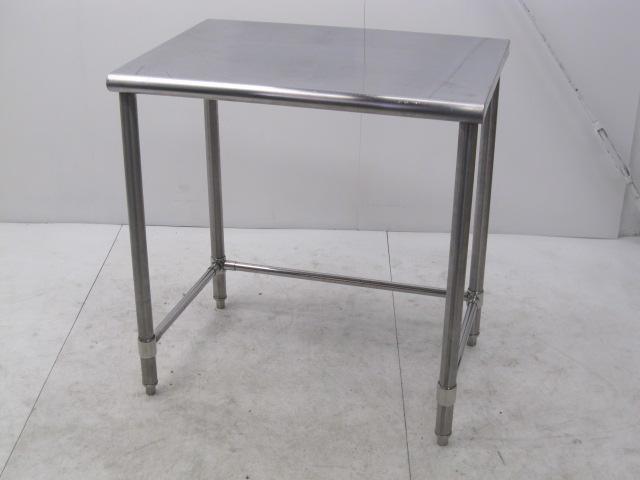 業務用 ステンレス調理台 三方枠 W800×D600×H830mm買取しました!