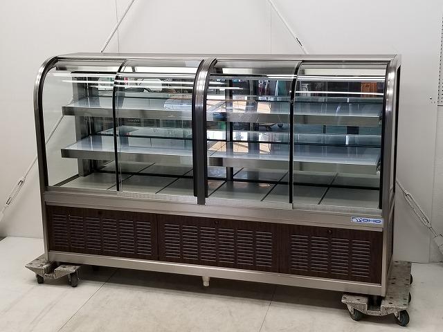 大穂製作所 対面冷蔵ショーケース OHGU-T-1800FK 2006年製買取しました!