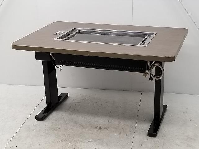 カジワラキッチンサプライ お好み焼きテーブル KHD-128E プロパンガス 2013年製買取しました!
