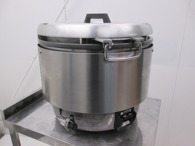 リンナイ ガス炊飯器 RR-30S1 プロパンガス 2011年製買取しました!