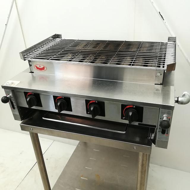 マルゼン ガス下火式焼物器 MGK-308B プロパンガス 2012年製買取しました!