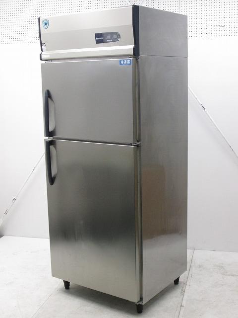 大和冷機 縦型冷凍冷蔵庫 211YS1-EC 2012年製買取しました!