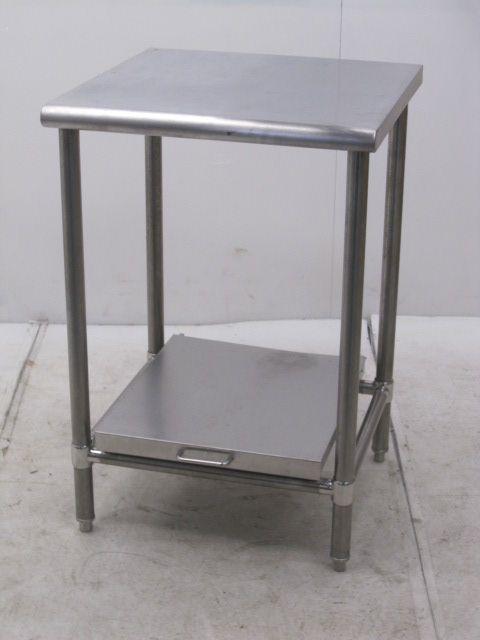 業務用 ステンレス炊飯台付き調理台 W600×D600×H885mm買取しました!