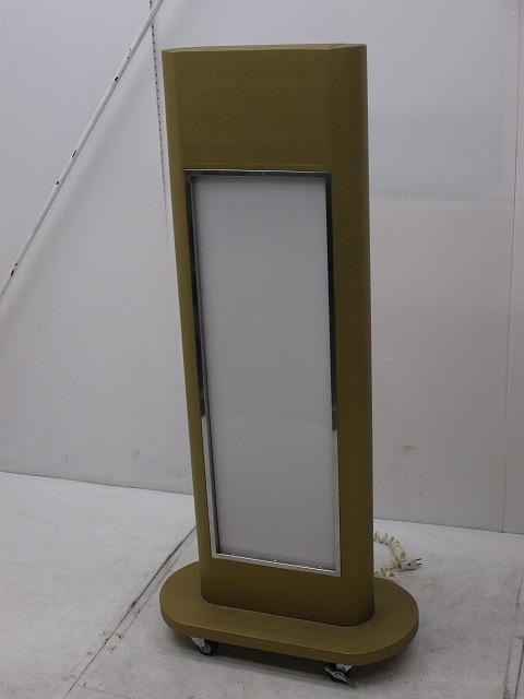 片面電光看板 W600×D300×H1300mm �@買取しました!