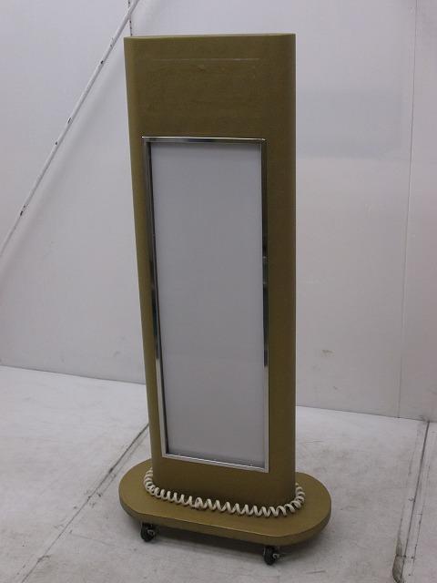 片面電光看板 W600×D300×H1300mm �A買取しました!