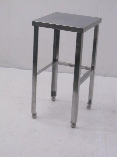 業務用 ステンレス調理台 三方枠 W400×D450×H800mm 買取しました!