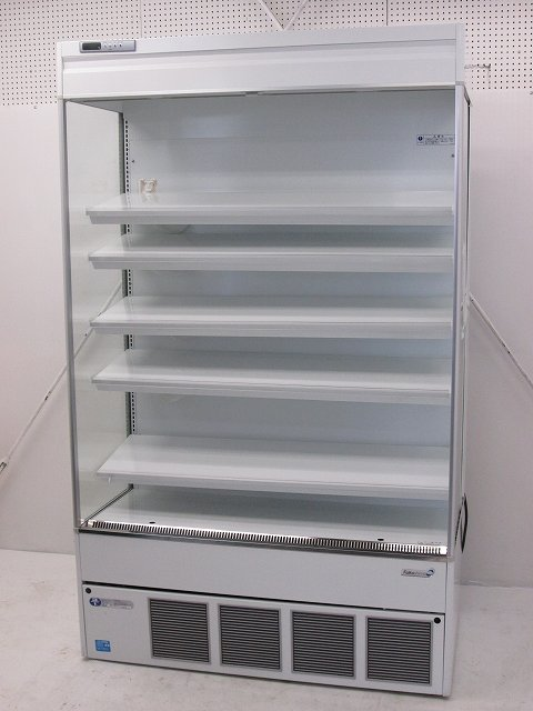 福島工業 冷蔵多段オープンショーケース MCU-45GKPOR 2015年製買取しました!