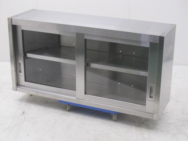 ガラス戸吊戸棚 W1200×D350×H600mm買取しました!