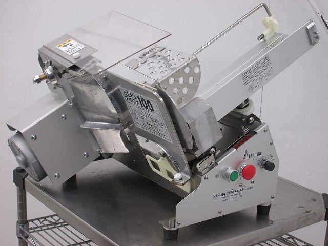 ハクラ精機 自動パンスライサー アルファ100 (A-100) 2017年製買取しました!