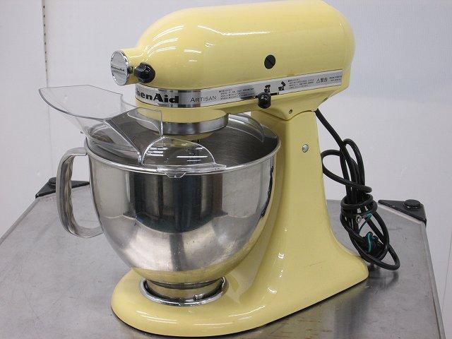 FMI キッチンエイド スタンドミキサー KSM150MY(イエロー) 2010年製買取しました!