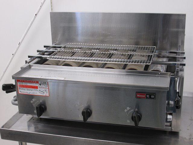 リンナイ ガス式下火焼きグリラー RGA-406B プロパンガス 2014年製買取しました!