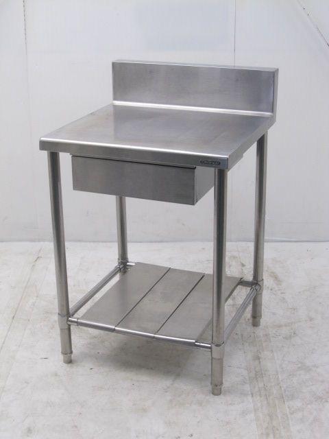 クリナップ 引き出し付き調理台 バックガードあり W600×D600×H800mm買取しました!