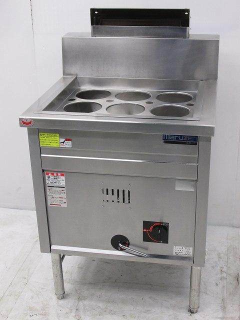マルゼン ガスゆで麺機 MRK-066B 都市ガス 2016年製買取しました!