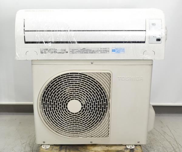 東芝 TOSHIBA  6畳用エアコン 自動お掃除機能付き買取しました!