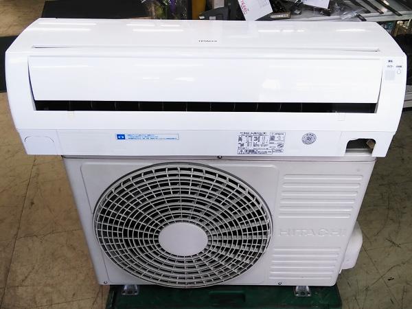 日立 HITACHI  6畳用エアコン買取しました!