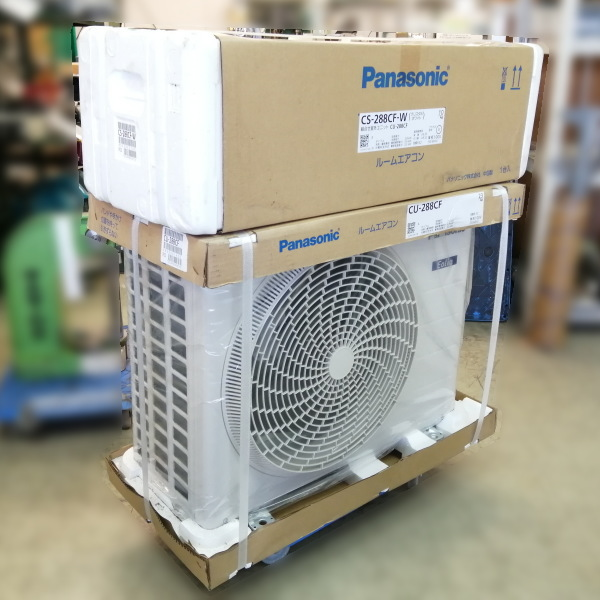 パナソニック Panasonic  10畳用エアコン買取しました!