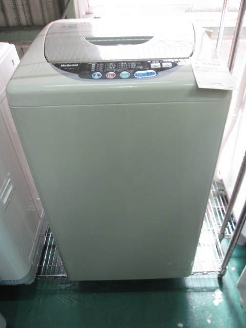 ナショナル5,0k全自動洗濯機NA-F50Y2-名古屋の家電激安販売と ...