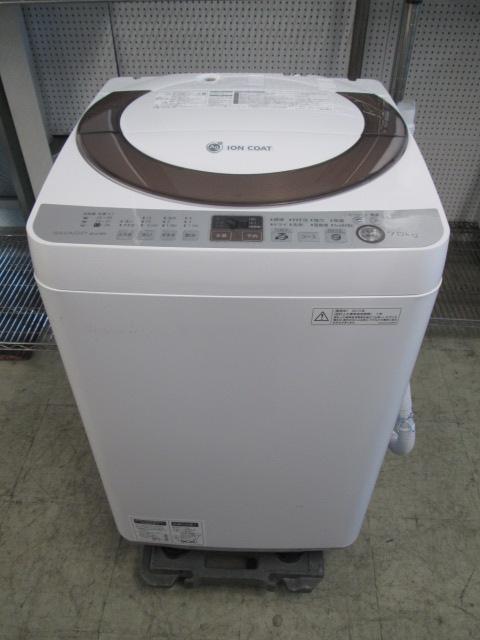 シャープ SHARP 7.0k全自動洗濯機 ES-A70E9