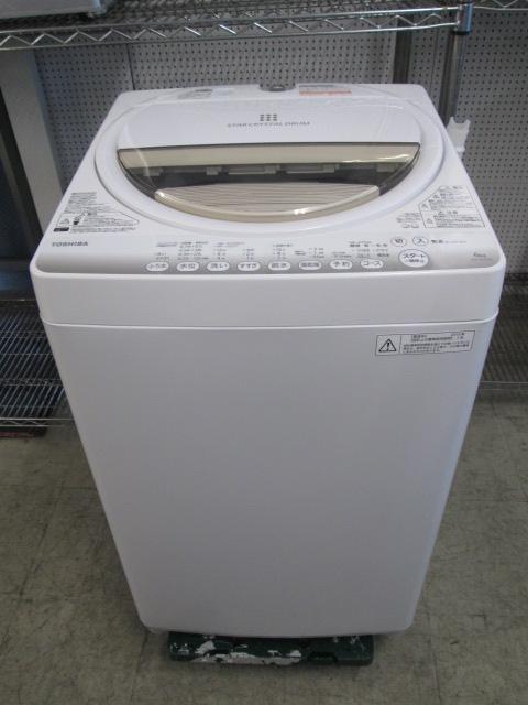 東芝 TOSHIBA  6.0k 全自動洗濯機 AW-6G2