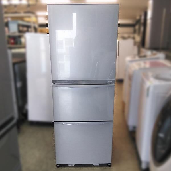東芝 TOSHIBA  3ドア冷凍冷蔵庫買取しました!