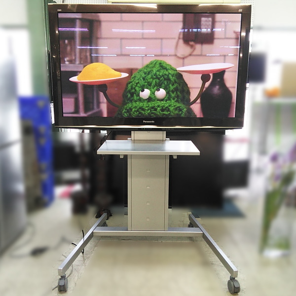 パナソニック Panasonic  50インチプラズマテレビ スタンド付き 3D対応買取しました!