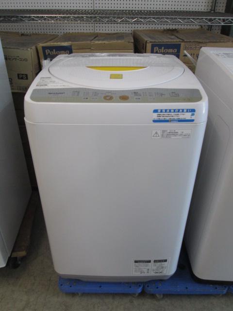 シャープ 5.5k全自動洗濯機買取しました!