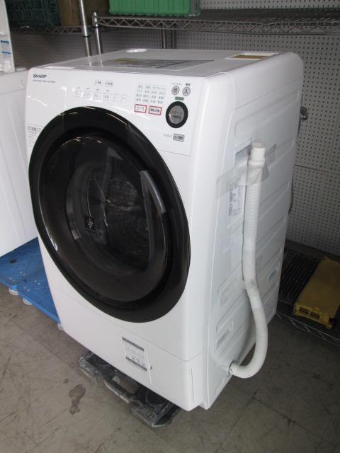 シャープ 6.0k ドラム式洗濯機買取しました!
