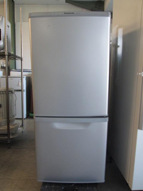 パナソニック 2ドア冷凍冷蔵庫 NR-B147W-S