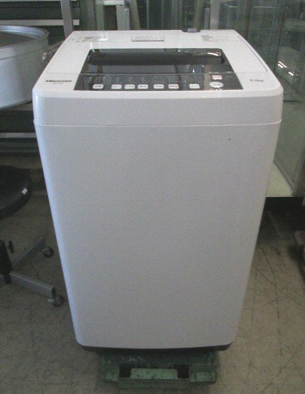 ハイセンス 5.5k全自動洗濯機買取しました!