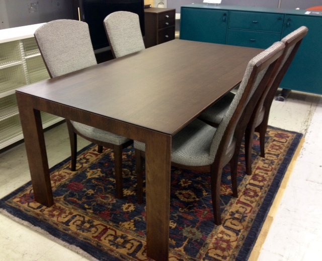 カリモクダイニングテーブルセットid120413173950002 中古家具