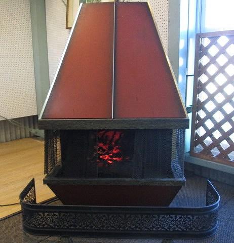 暖炉風ディスプレイ買取しました!
