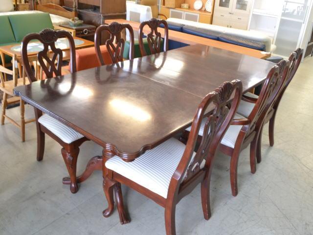 家庭のアイデア 6人 テーブル : 人掛け エクステンション ...