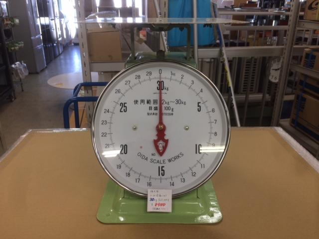 OIDA SCALE WORKS 30kg 上皿自動ハカリ 秤買取しました!