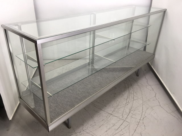 日本アルミ  ガラスケース買取しました!