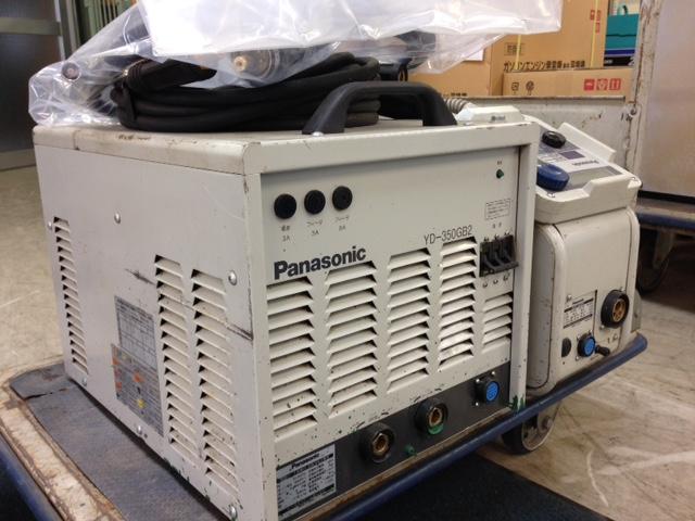 パナソニック Panasonic  フルデジタルCO2/MAG 半自動溶接機 YD-350GB2