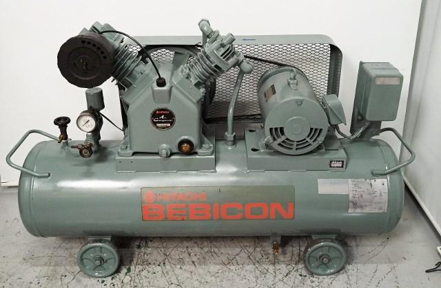 日立 HITACHI 5馬力レシプロコンプレッサー買取しました!