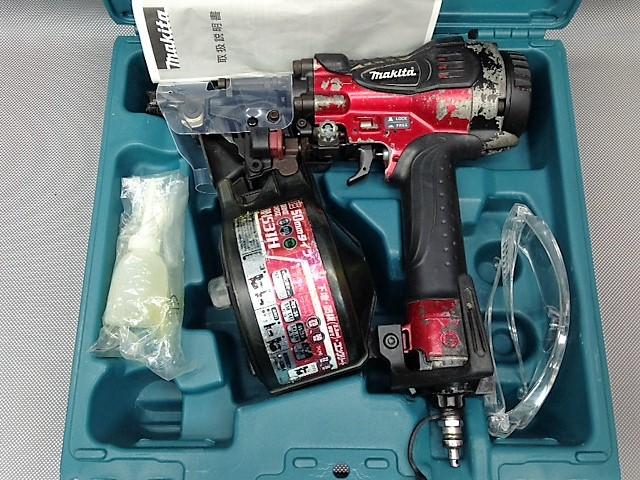 マキタ makita  50mm高圧釘打ち機 コイルネイラ エアダスター付買取しました!