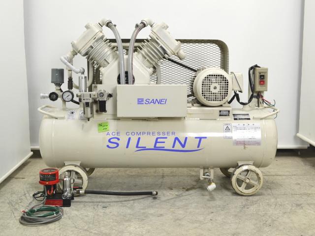三栄技研 2馬力 サイレントコンプレッサー 60Hz 医療用買取しました!
