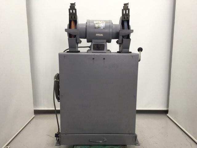 淀川電気製作所 YODOGAWA  205mm 集塵装置付両頭グラインダー 三相200V  FG-205T