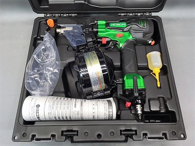 日立工機 HITACHI  50mm高圧釘打ち機 パワー切替機構買取しました!