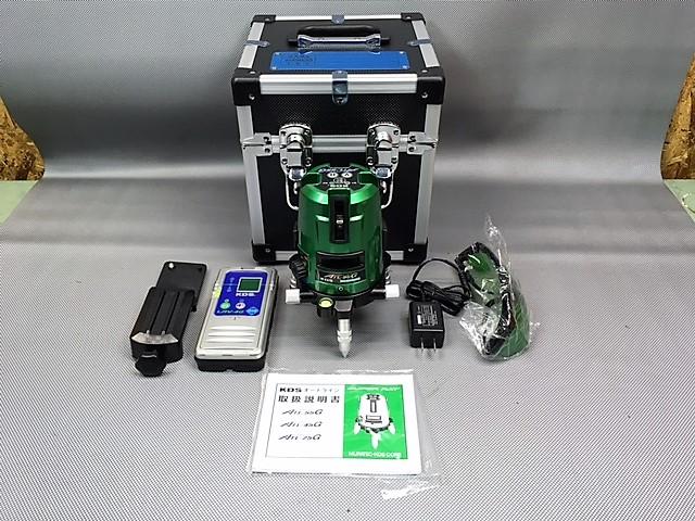ムラテックKDS  レーザー墨出し器 グリーンレーザー 受光器付買取しました!