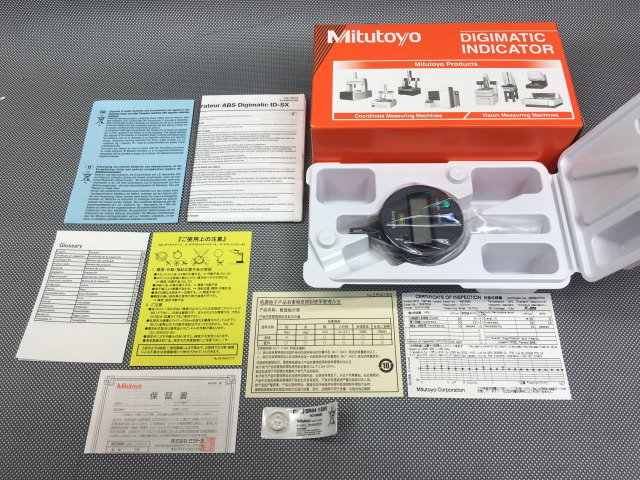 ミツトヨ Mitutoyo  ABSデジマチックインジケータ買取しました!