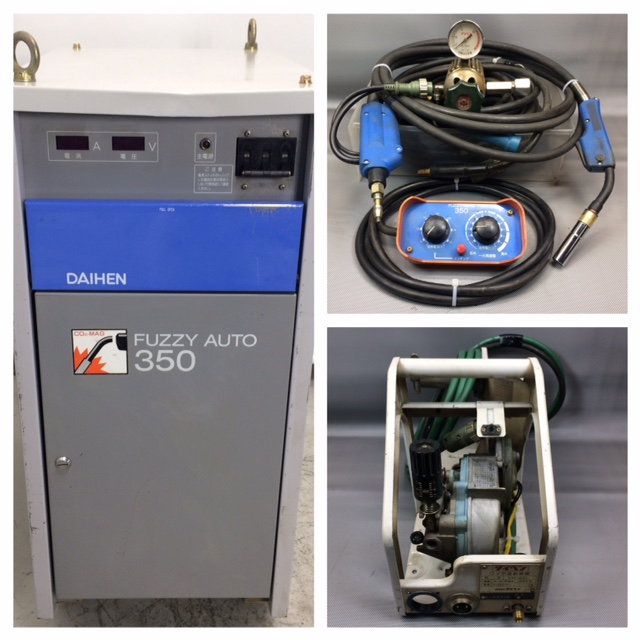 ダイヘン/DAIHEN 350A CO2/MAG 半自動溶接機 ファジーオート350/FUZZY AUTO 350買取しました!