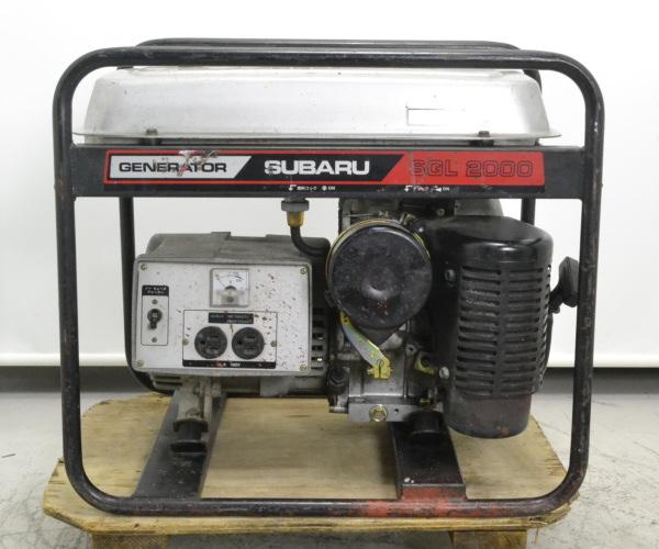 スバル SUBARU  2.0kVA ガソリンエンジン発電機 単相100V 60Hz買取しました!